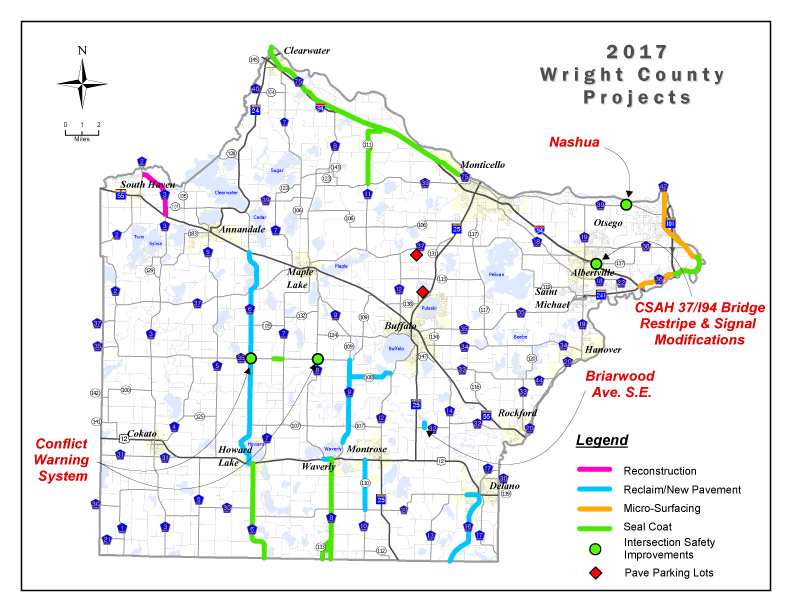 Wright County Announces 2017 Construction Projects Dhj Blog