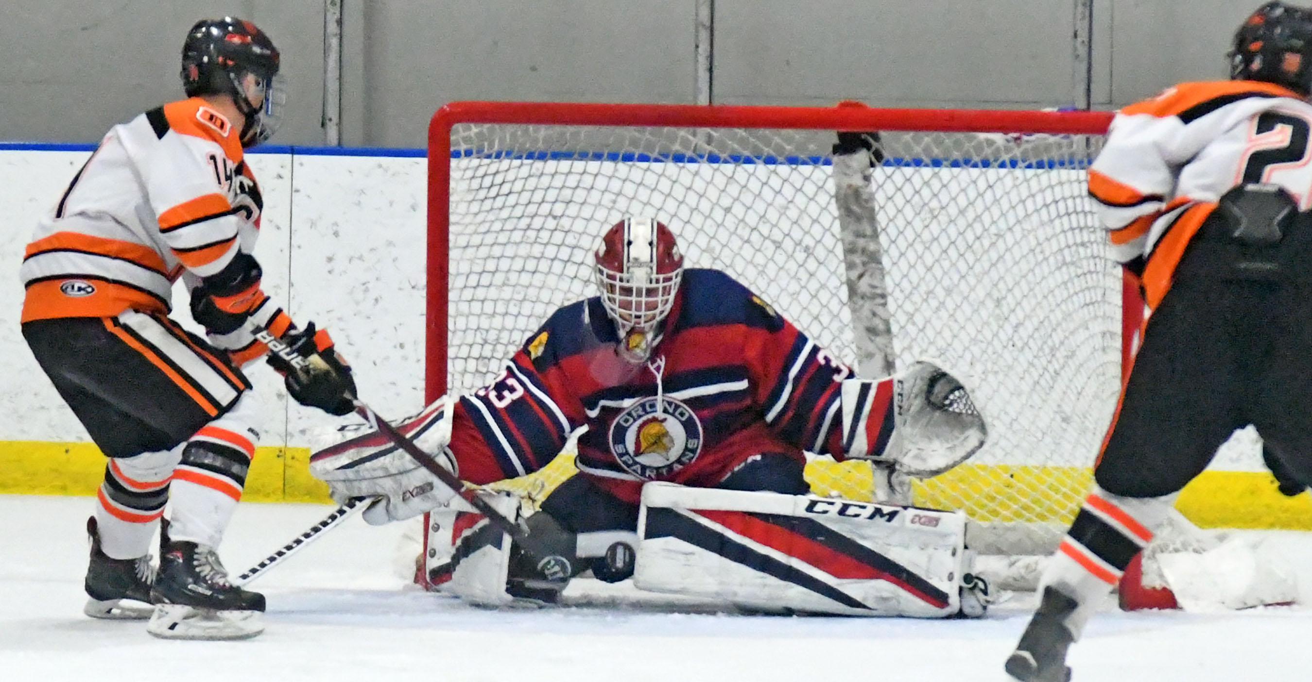 Image result for orono high school hockey