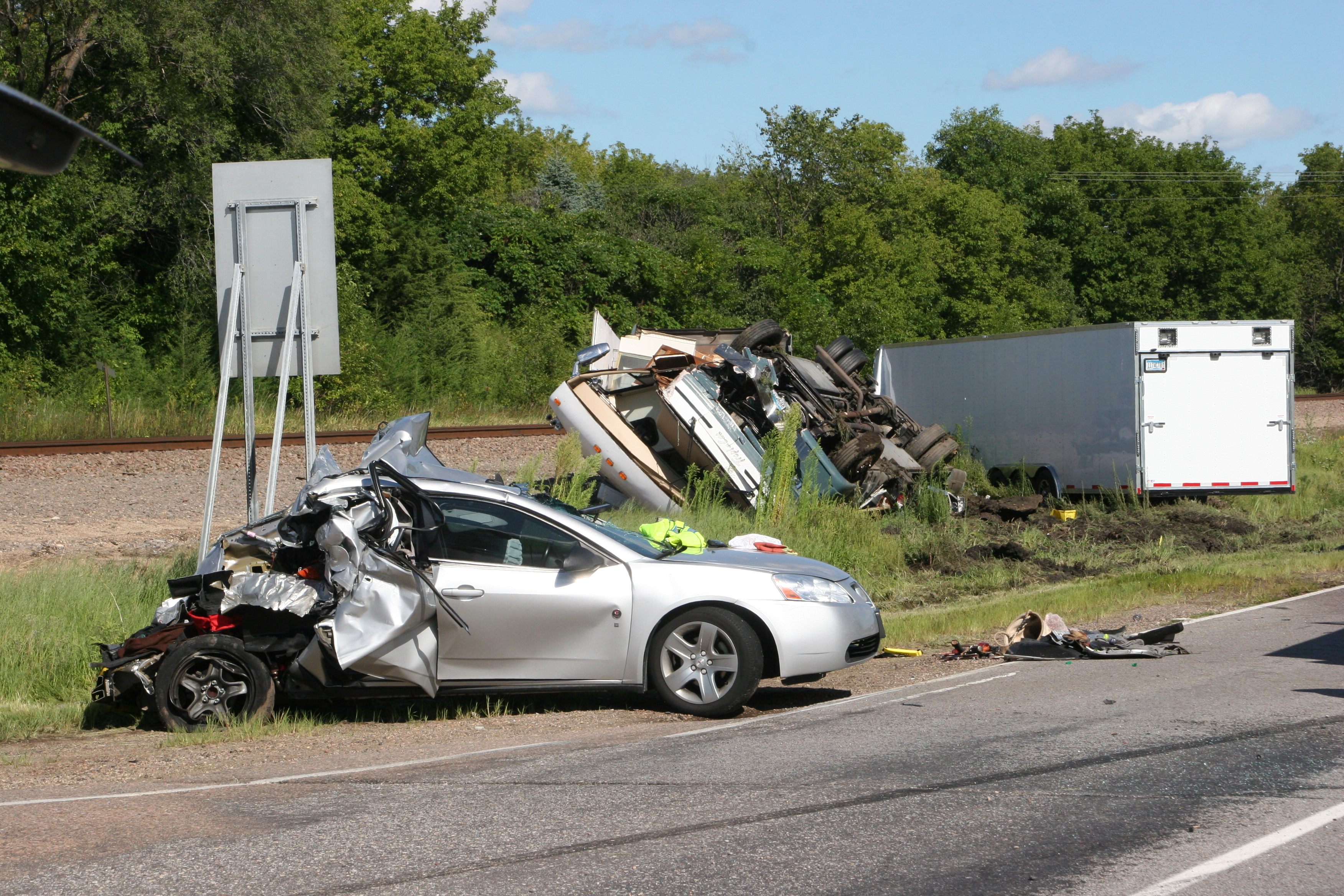 Update Highway 12 Crash Victim Has Died Dhj Blog
