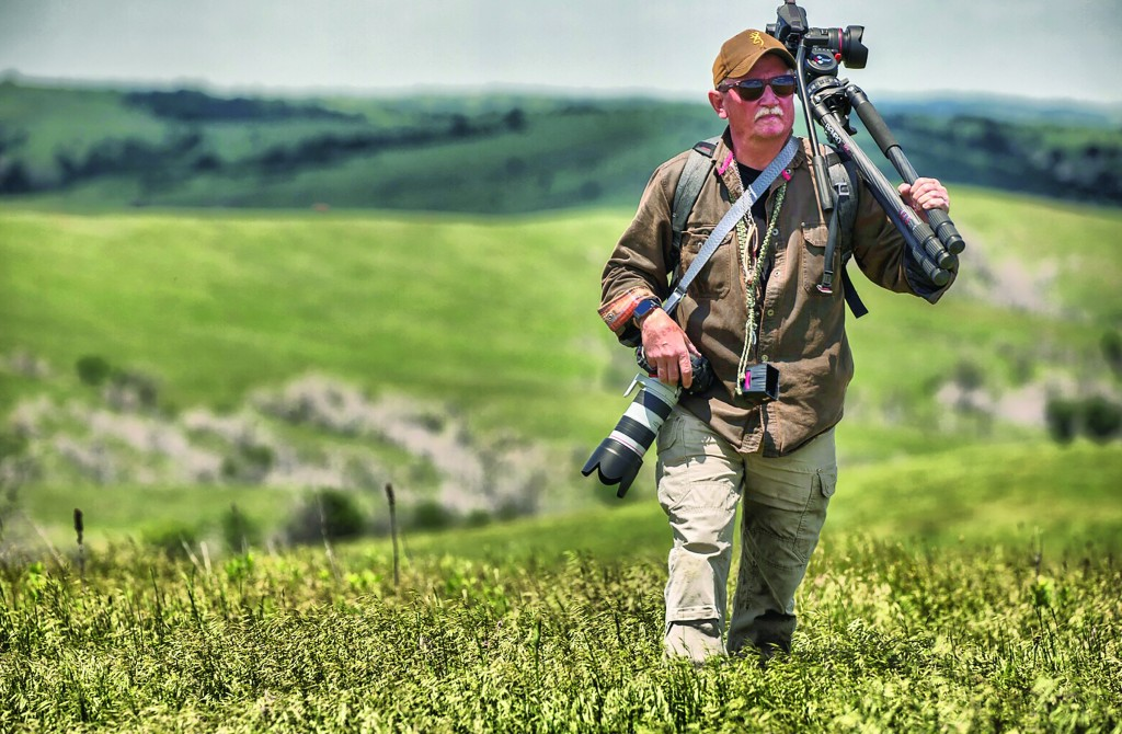 Mitch Kezar has been lugging his photography gear across grasslands and city streets all over the world for 5-plus years.