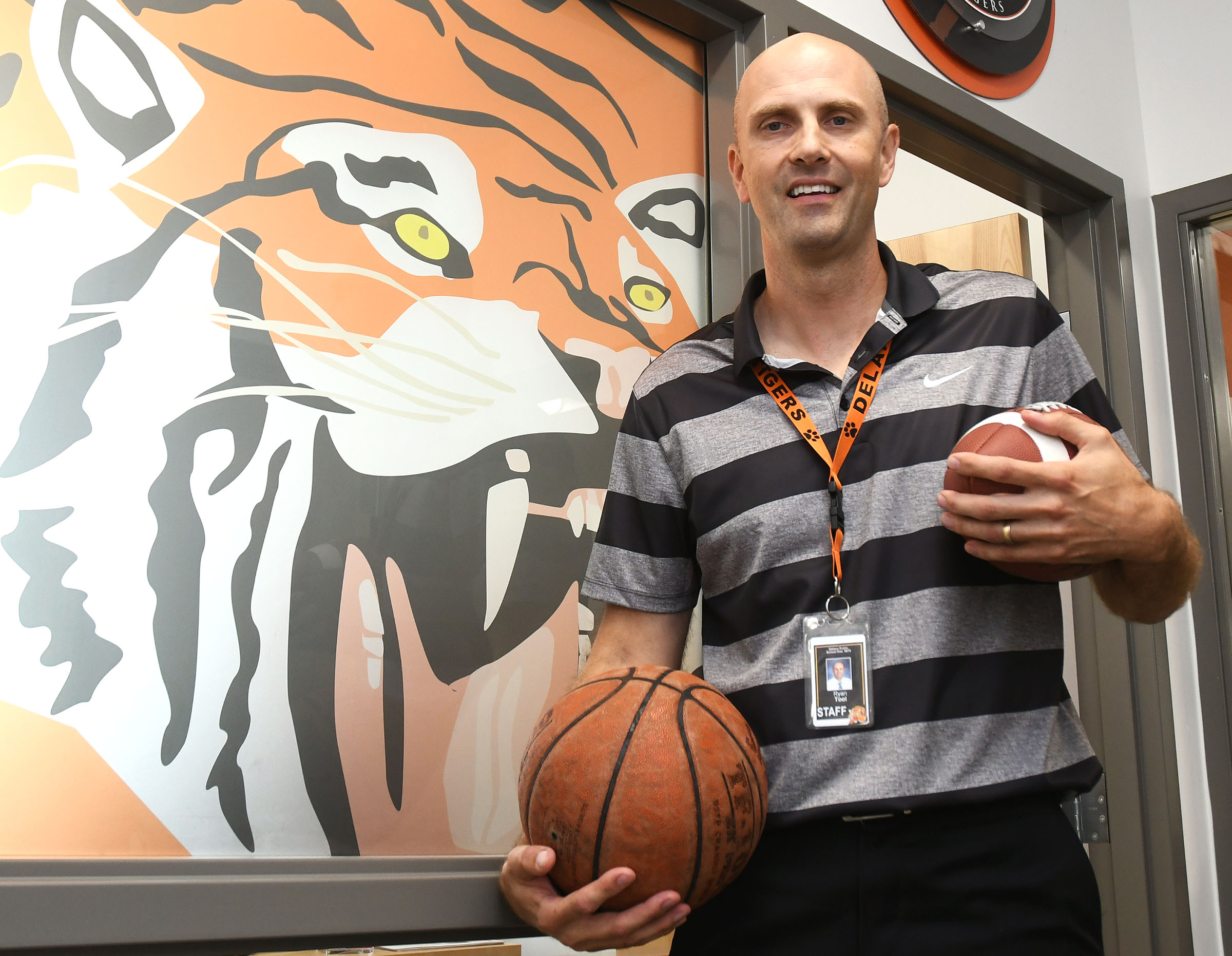 Ryan Tool is a Delano Tiger, again. The 1993 Delano High School graduate returned to the school in July to serve as the activities director at Delano, where he once starred for the Tigers in football, basketball, and baseball.