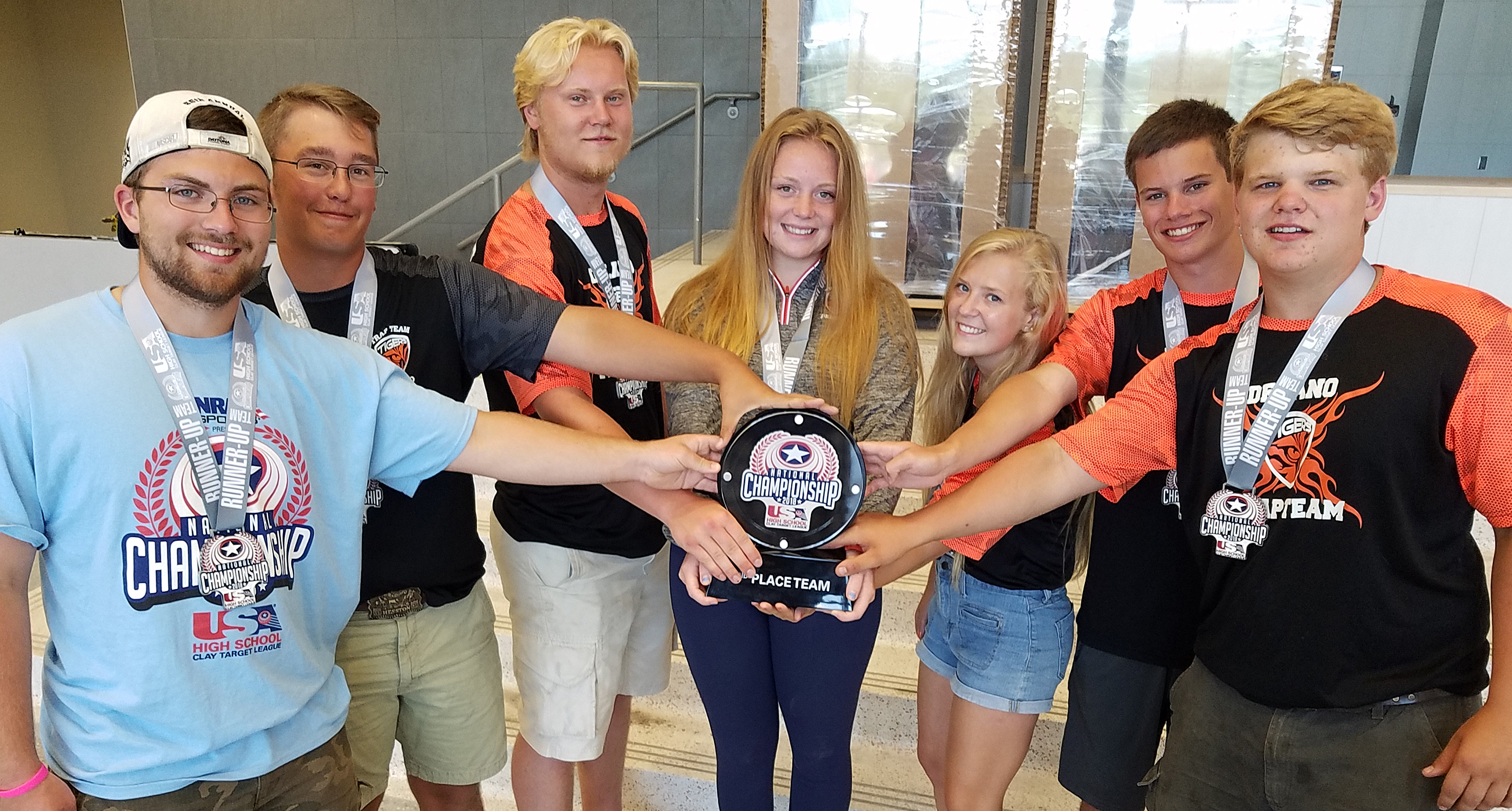 The Delano Tiger Trap Team won second place at the USA High School Clay Target League National Championship.