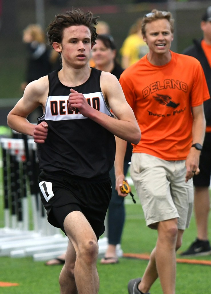 As a raw runner entering the season, Reider was already ahead of much of the field. His formal training under coach and accomplished distance runner Jackson Lindquist made him even better. Photo by Matt Kane