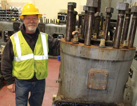 Jim Griebel has retired from Delano Municipal Utilities after 32 years.